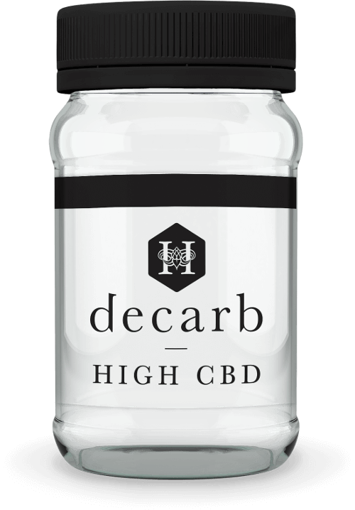 Hydropothecary Decarb Milled High CBD Medical Marijuana Jar